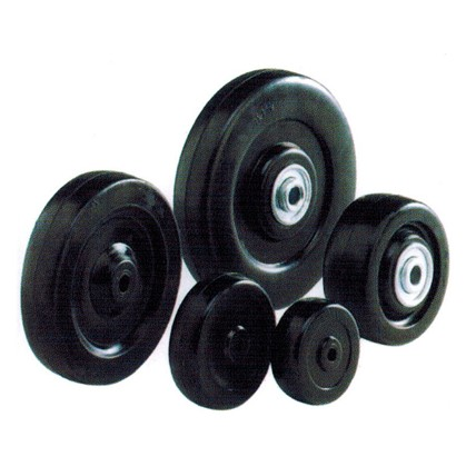 SR/HR/SBB/HBB - Soft / Hard Rubber With Ball Bearing Wheels