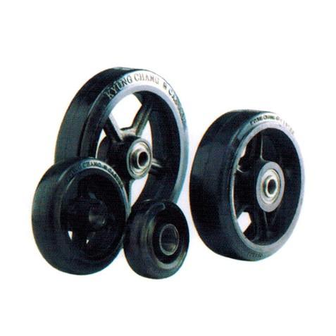 RC - Rubber Tread Cast Iron Core Wheels